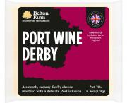 Belton Farm Port Wine Derby Cheese
