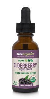 Bare Organics Organic Elderberry Fruit Liquid Drops