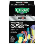 Curad Variety Pack Antibacterial Bandages