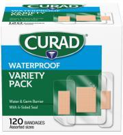 Curad Waterproof Variety Pack