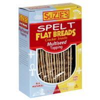 Suzie's Spelt Multi-Seed Flatbreads
