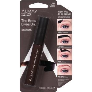 Almay The Brow Lives On Long Lasting Black Brown Brow Color
