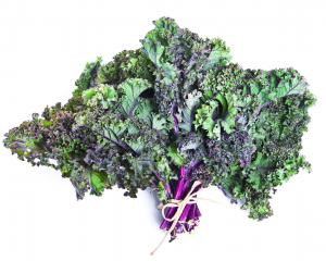 Bunched Red Kale