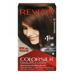 Revlon ColorSilk Medium Rich Brown #47