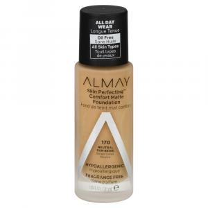 Almay Skin Perfecting Comfort Matte Foundation Sun Beige
