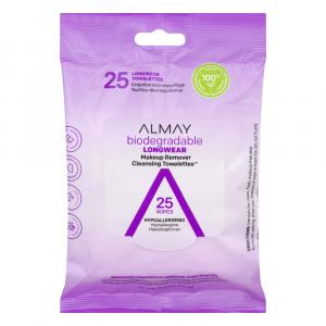 Almay Makeup Remover Cleansing Longwear Towelettes