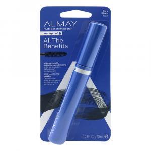 Almay One Coat Multi-Benefit Waterproof Black Mascara