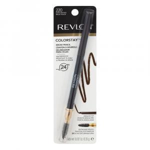 Revlon Color Stay Brown Pencil Crayon Waterproof Dark Brown