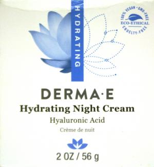 Derma E Skin Hydrating Night Creme With Hyaluronic Acid