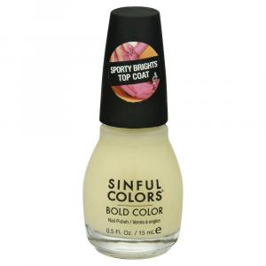 Sinful Bold Color Rubber Top Coat
