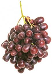 Specialty Black Seedless Grapes