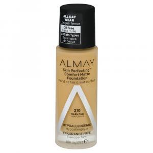Almay Skin Perfecting Comfort Matte Foundation Warm Tan