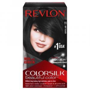 Revlon ColorSilk Soft Black Hair Coloring