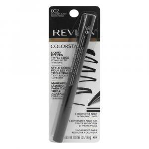 Revlon Color Stay Liquid Eye Pen Triple Edge Blackest Black