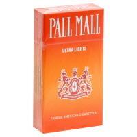 Pall Mall Orange 100's Cigarettes