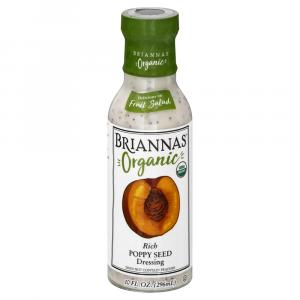 Brianna's Organic Poppy Seed Salad Dressing