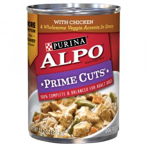 Alpo Prime Cuts Chicken Canned Dog Food