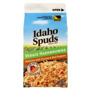 Idaho Spuds Hashbrowns Potatoes with Carrots and Peppers
