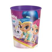 Plastic Shimmer & Shine Cup