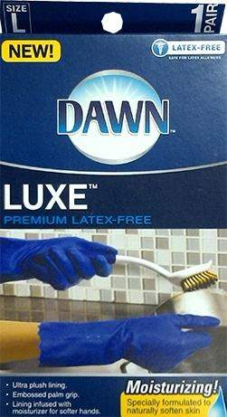 Dawn Luxe Latex Free Gloves Large Size