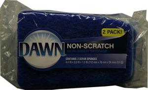 Dawn Non-Scratch Scrubber Sponges