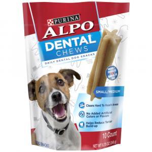 Alpo Dental Chews 10-piece Dog Treats