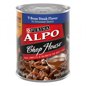 Alpo Chop House W/gravy T-bone Steak