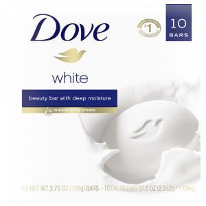 Dove White Beauty Bar Soap