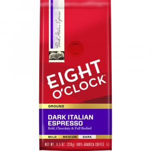 Eight O'clock Dark Italian Roast Ground Coffee