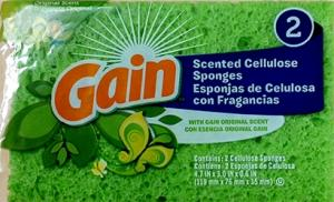 Gain Scented Cellulose Sponges