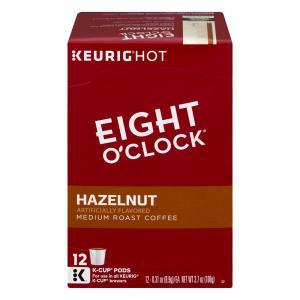 Eight O'clock Hazelnut K-cups
