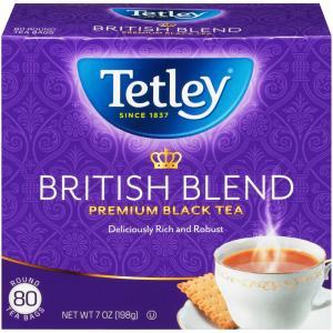 Tetley British Blend Premium Round Tea Bags