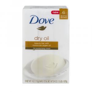 Dove Dry Oil Moisture Bar Soap