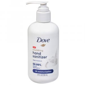 Dove Nourishing Deep Moisture Hand Sanitizer