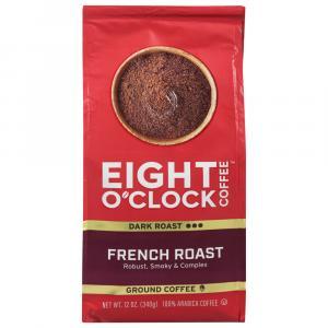 Eight O'clock French Roast Ground Coffee