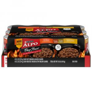 Alpo Chop House Variety Pack Dog Food