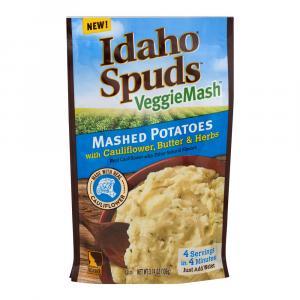 Idaho Spuds Veggie Mash Cauliflower, Butter & Herbs