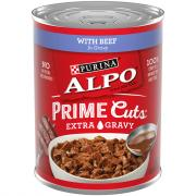 Alpo Prime Cuts with Beef Extra Gravy