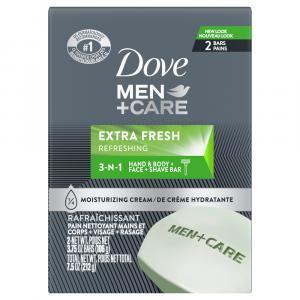 Dove Men Care Extra Fresh Bar Soap