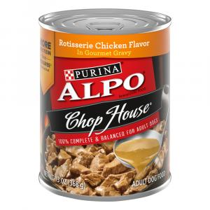 Alpo Chop House w/Gravy Rotissierie Chicken