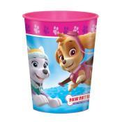 Plastic Paw Patrol Girl Cup