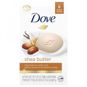 Dove Shea Butter with Warm Vanilla Bar Soap