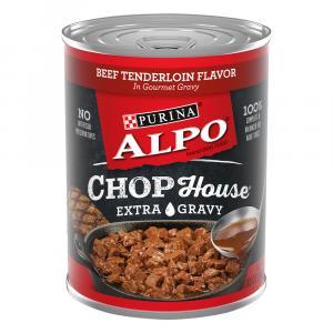 Alpo Chop House Beef Tenderloin Extra Gravy