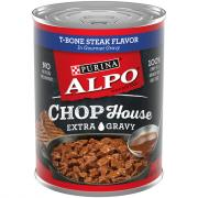 Alpo Chop House T-Bone Steak Extra Gravy