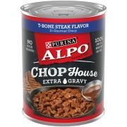 Alpo Chop House T-Bone Steak Extra Gravy