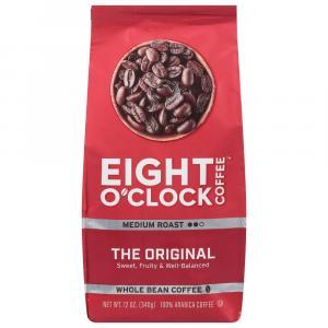 Eight O'Clock Whole Bean Coffee