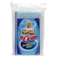 Mr. Clean Deluxe Sponge Mop with Scrubber Strip Refill