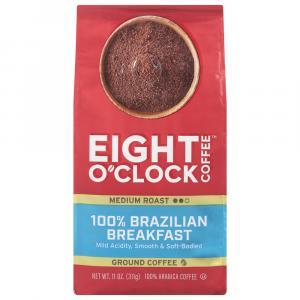 Eight O'clock Ground 100% Brazilian Breakfast Coffee