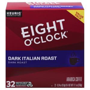 Eight O'Clock Coffee Dark Italian Roast K-Cups