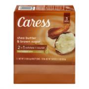 Caress Shea Butter & Brown Sugar Beauty Bars